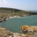 Бухта Шарабай - мыс Казантип