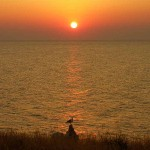 Закат на мысе Казантип
